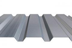 Základem pro řešení akustiky stávajících halových staveb je akustický podhled ISOVER ROOF ACOUSTIC CEILING z nízkého perforovaného trapézového plechu s akustickou minerální výplní