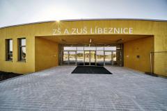 Hlavní vstup do nového pavilonu