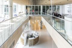 Převýšený prostor vstupního lobby