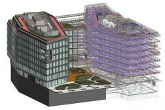 Model budovy v systému BIM