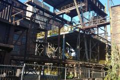 Ocelová konstrukce údržby zavážecího stroje