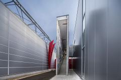 Novostavba skladové haly s vloženou administrativou pro firmu Würth, Nepřevázka
