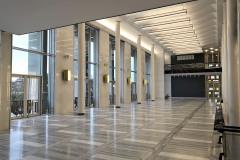 Architektonické řešení společenských prostor je jedním z nejlepších a nejfunkčnějších prvků celé stavby. Budova slouží opernímu a baletnímu souboru Národního divadla v Brně, kromě toho je pravidelně využívána souborem zpěvohry NDB. Rovněž se tu pořádají koncerty.