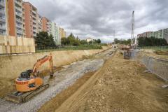 Stavba, jejíž náklady přesahují 1,4 miliardy korun, zajistí dostupnost oblasti Fakultní nemocnice Brno a Univerzitního kampusu Bohunice, kam denně cestuje na čtyřicet tisíc lidí