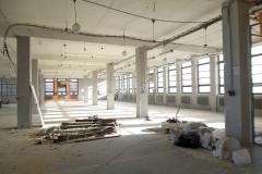 Z průběhu stavby