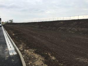MEA_finální povrchová úprava půdy nad vsakovací galerií